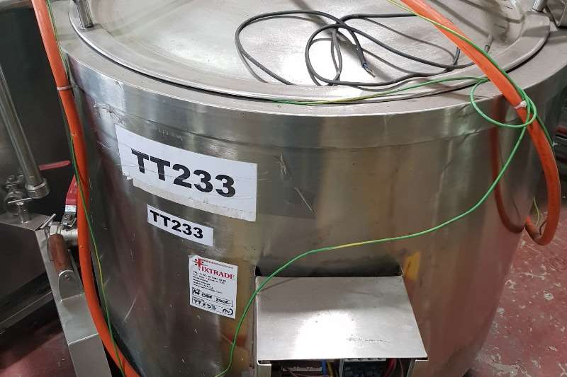 Holding tanks Cooking Pot Oil Dairy farming