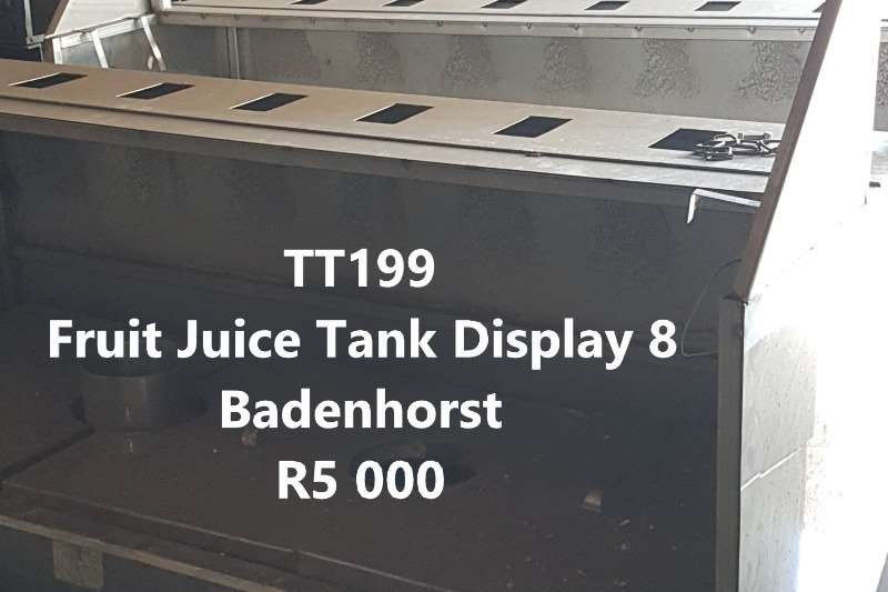 Holding tanks Fruit Juice Tanks Dairy farming