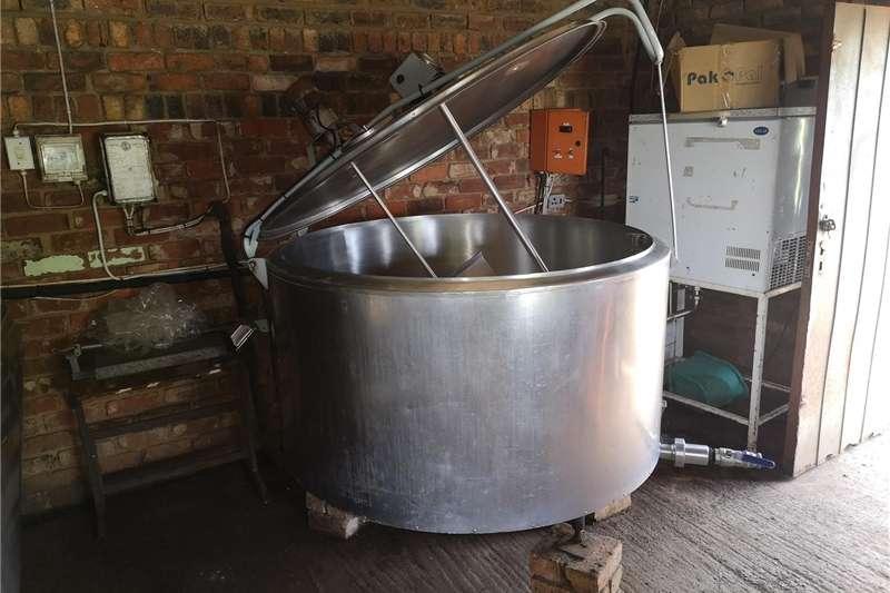 Dairy farming Holding tanks Melktenk