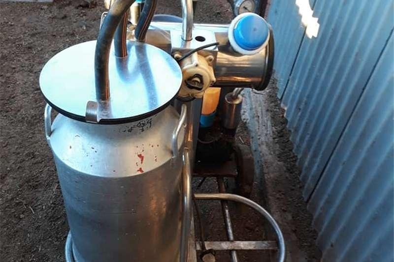 Dairy farming Sterilisation - dairy Mobiele melkmasjien