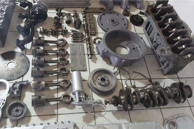 Deutz ADE 366 Turbo Engine stripping for Spares Components and spares