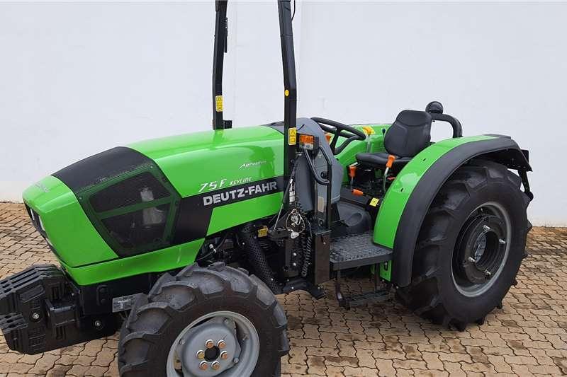 Deutz 4WD tractors Deutz Fahr F75 4wd Orchard Tractors