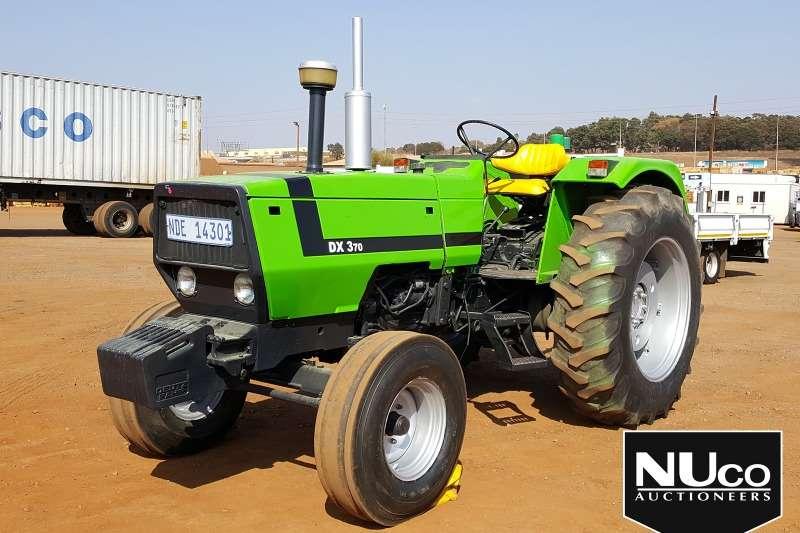 Deutz Tractors DEUTZ DX370 TRACTOR