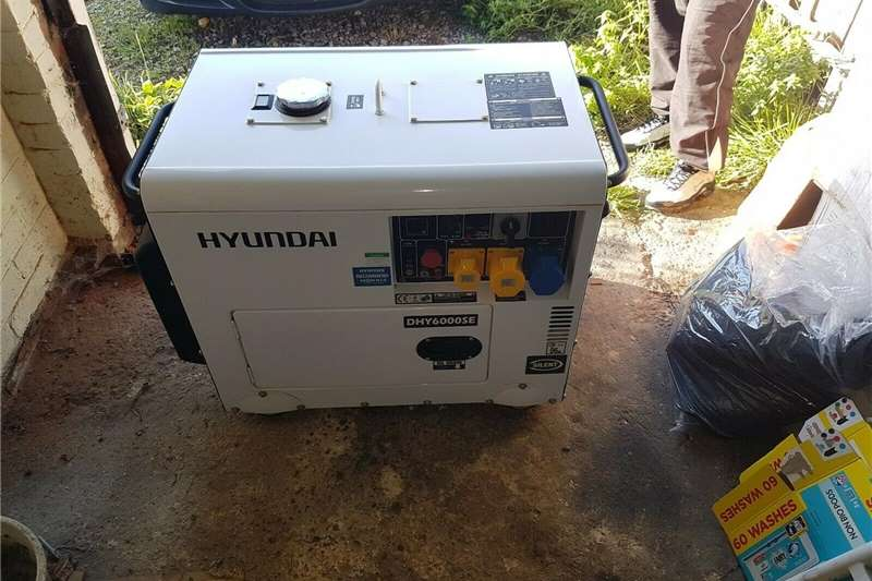 Diesel generator 6kVA Hyundai 5.2kW 'Silent' Standby Diesel Gen