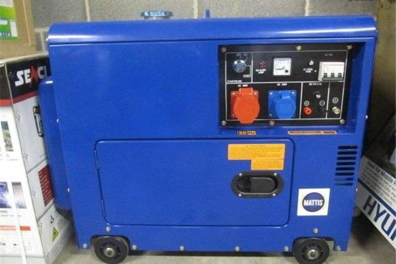 Diesel generator Brand New Mattis Electric Start Encased 5.5 KVA 3