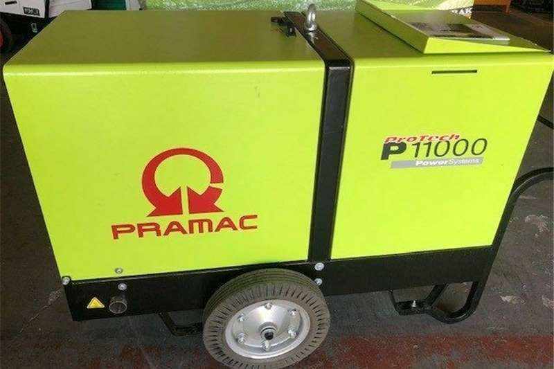 Diesel generator New 11 kVA Pramac P11000 silent diesel generator w