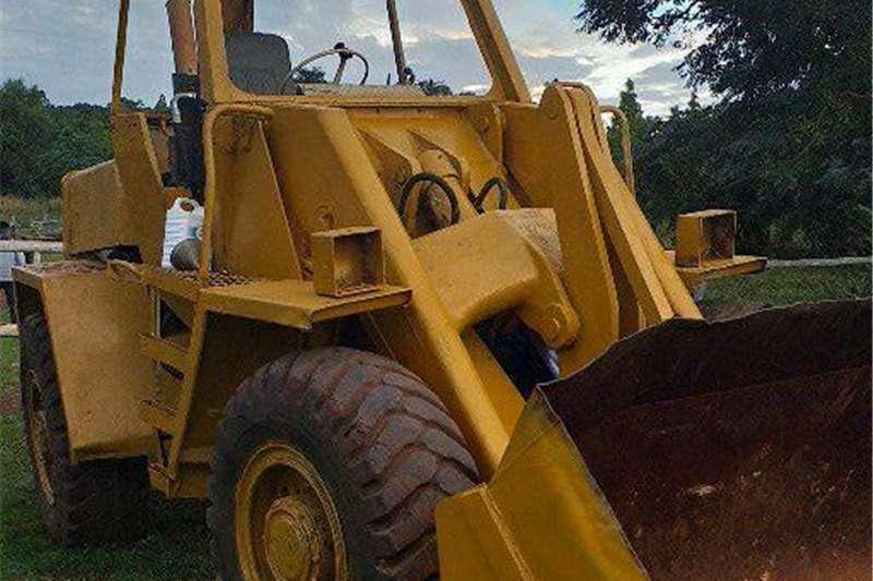 JCB front end loader Digger