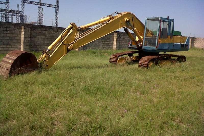 Digger Komatsu PC210 Excavator 20 ton
