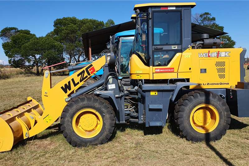 Digger New 60kw Front loader without papers