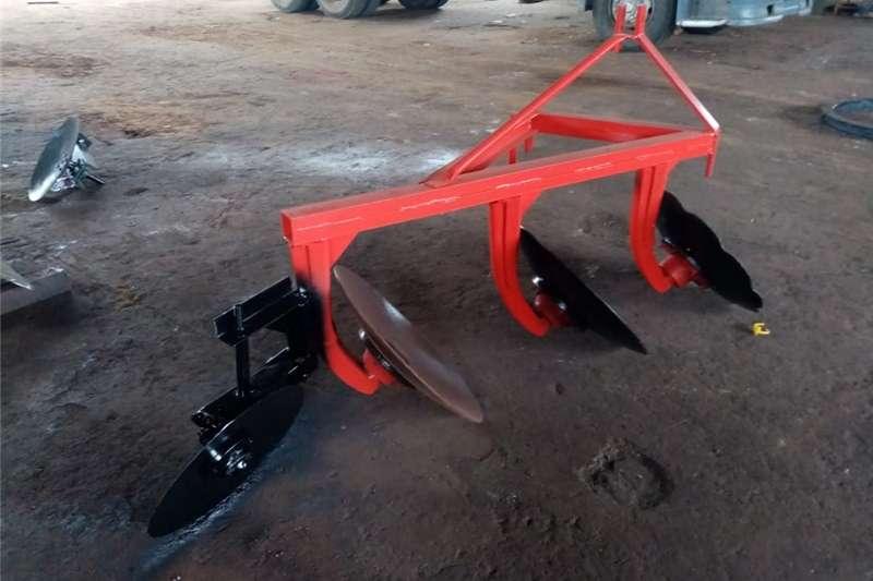 Disc ploughs 3 disc ploughs for sale