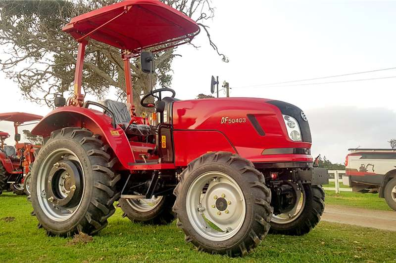 Dongfeng Utility tractors 50HP 4X4 Tractor Tractors