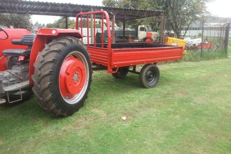Doosan Agricultural trailers Carts and wagons twee ton trekker wa