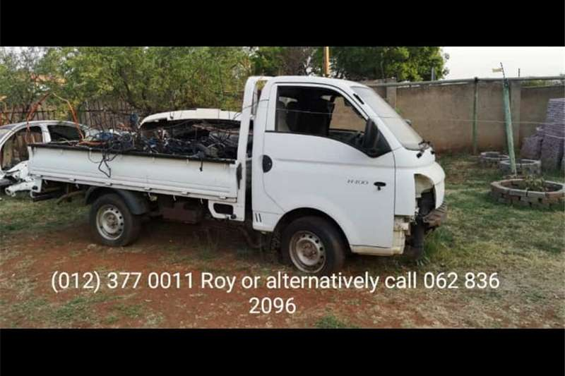 Double axle Hyundai H 100 body for sale as is