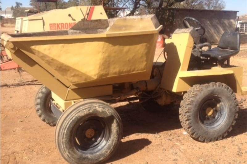 Dumper S3184 Yellow Lombardini Dumper 2x4 Pre-Owned Dumpe