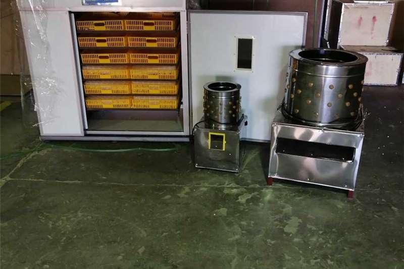 Egg incubator INCUBATORS AND PLUCKER MACHINES
