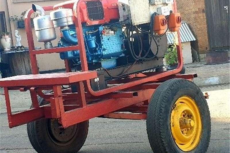 Electric motors / elektriese motors 10KVA Diesel generator