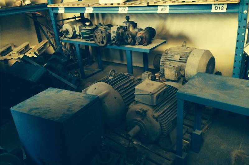 Electric motors / elektriese motors 2 x 55kva Electric motors