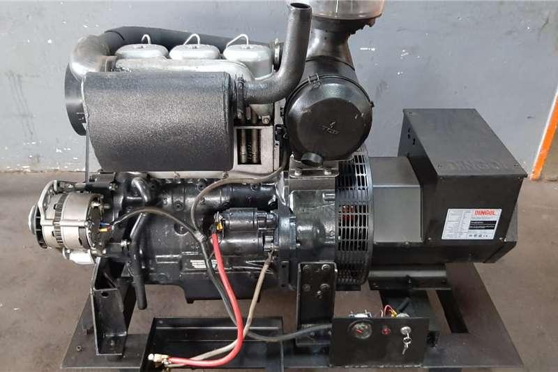 Electric motors / elektriese motors 30 KVA Deutz Genset Generator 2020