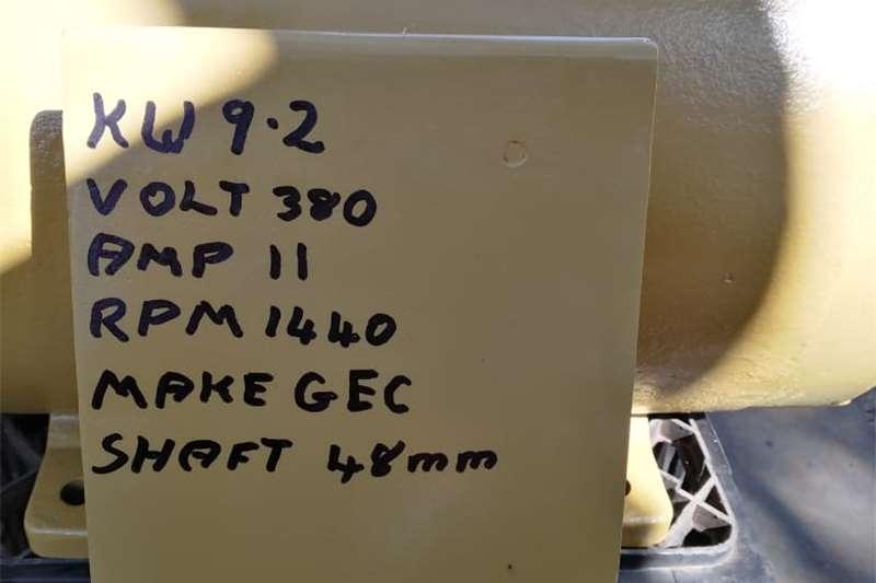 Electric motors / elektriese motors 9.2kw Electric Motor