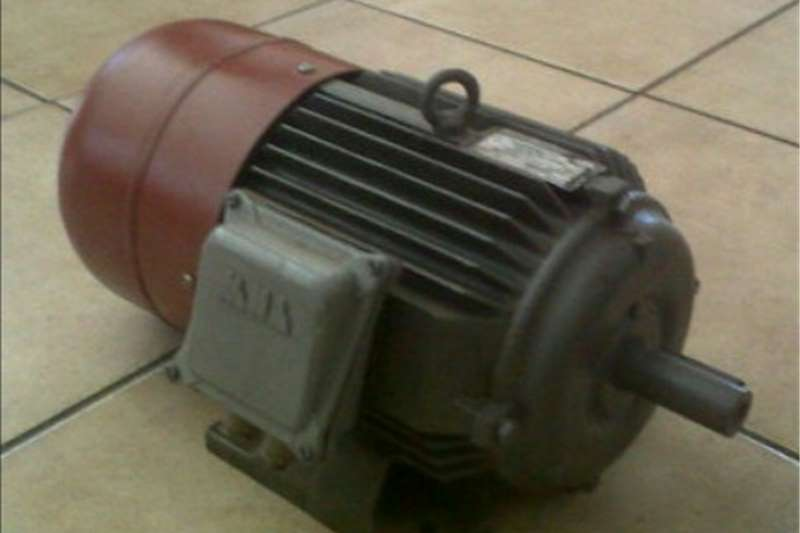 Electric motors / elektriese motors Electric motor 2 speed
