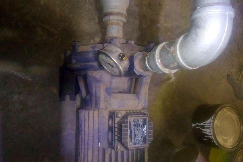 Electric motors / elektriese motors Irrigation pump