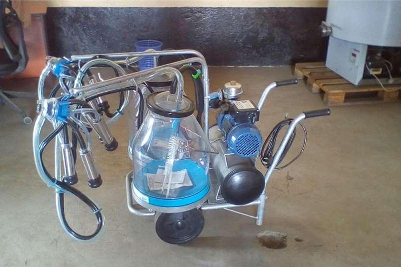 portable milking machines Electric motors / elektriese motors