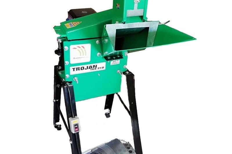 Electrical hammer mills Hammer mill Hammermill Trojan TGS 210 E MiniMax (h