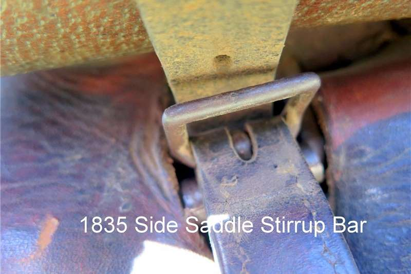 Riding equipment 1835 Style Side Saddle Equestrian