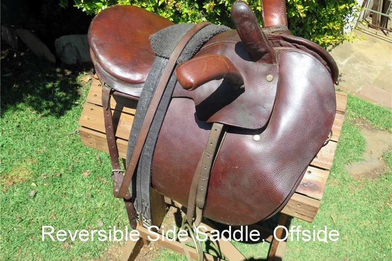 Riding equipment Reversible Side Saddle Equestrian
