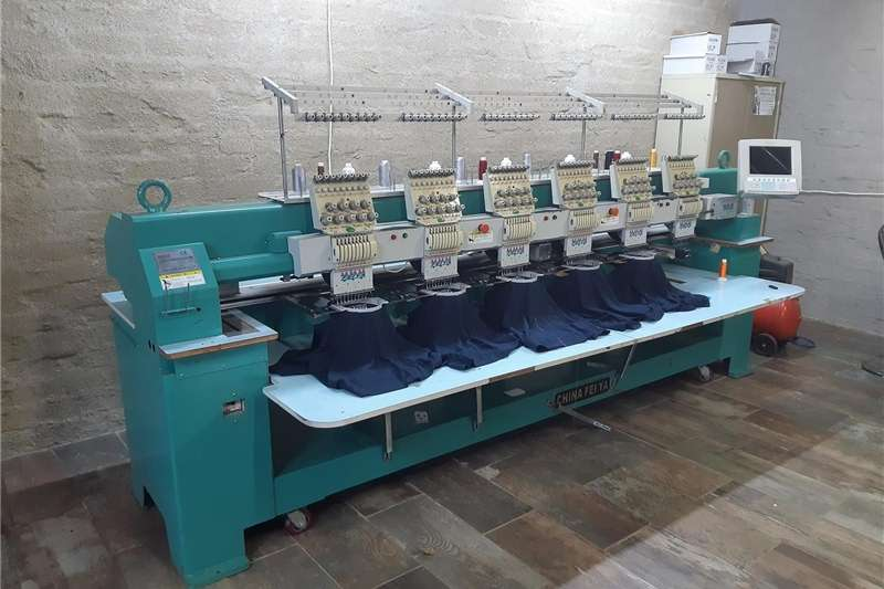 Farming Industrial Embroidery Machine
