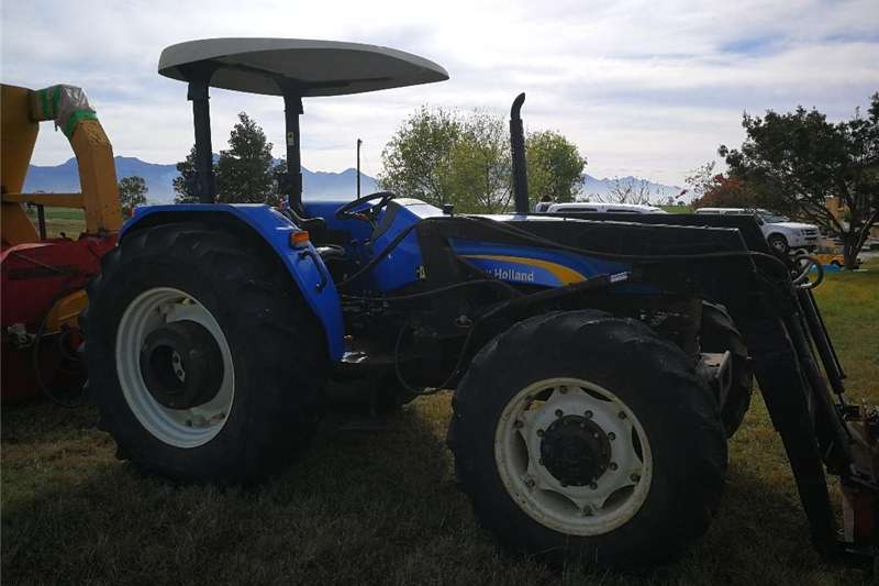 Farming New Holland  TD Straddle Trekker