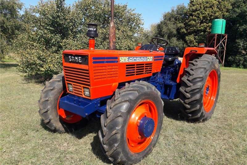 Farming SAME Drago 120 4wd