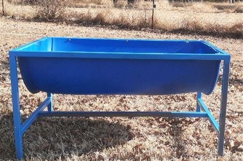 Feed mixers feeders for cattle and game goats and sheep