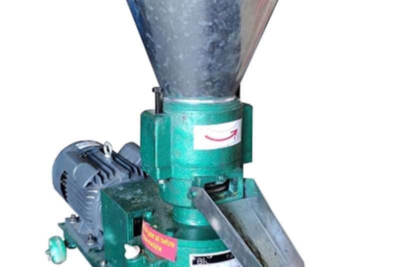 Flat die Pelletizers Feed mixers