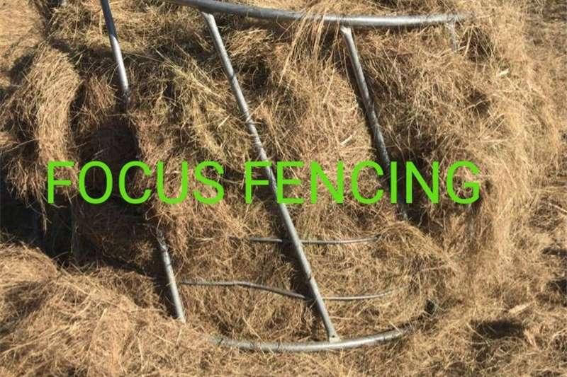 Galvanized Cattle Hay Feeders Feed mixers