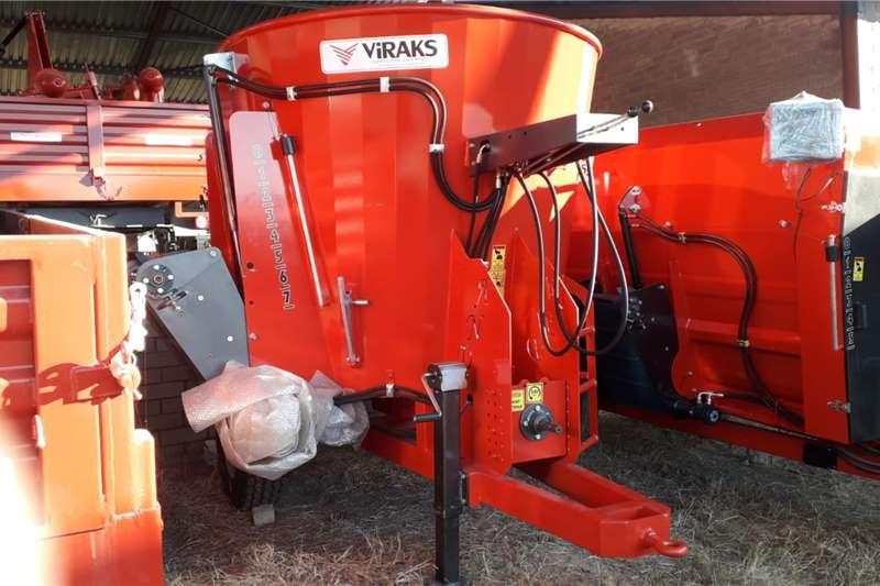 New Viraks Feed mixers Feed mixers