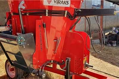 New Viraks Vertical mixer 2 cube Feed mixers