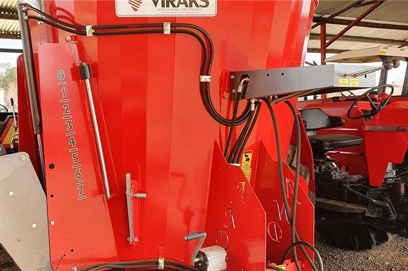 New Viraks Vertical mixer 3.5 cube Feed mixers