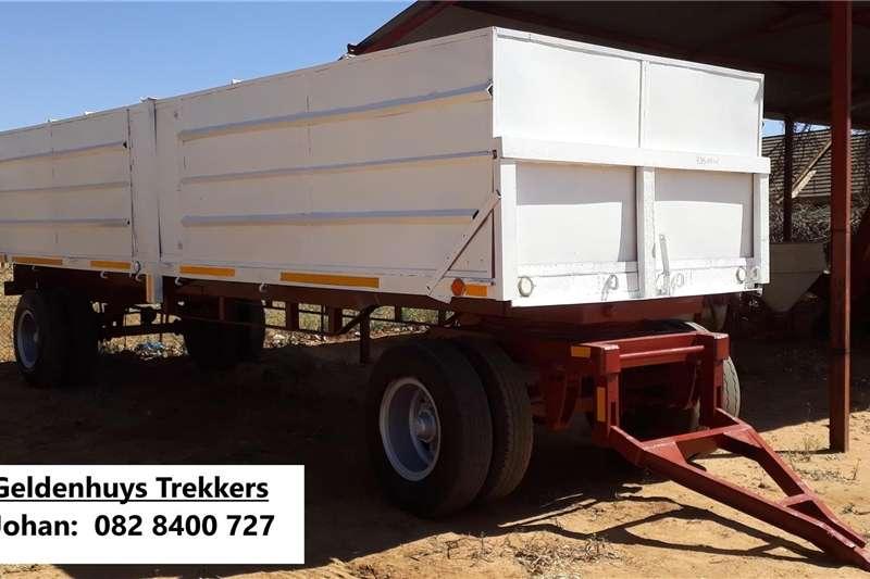 20 Ton Sleepwa met papiere Feed wagons