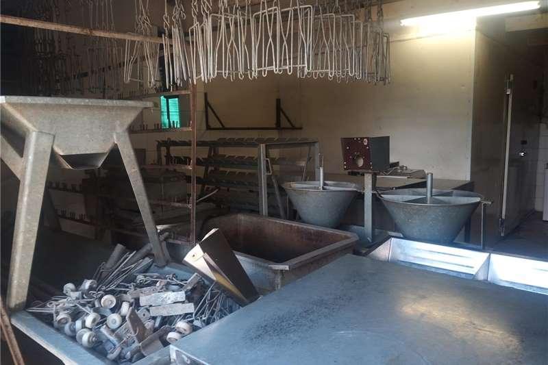 Chicken abattoir Feed wagons