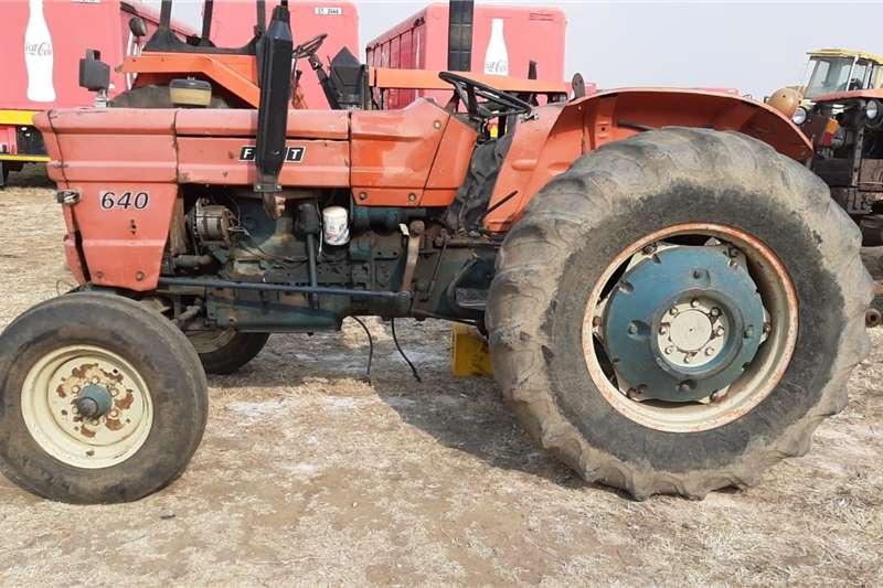 Fiat 2WD tractors 640 Tractor Tractors