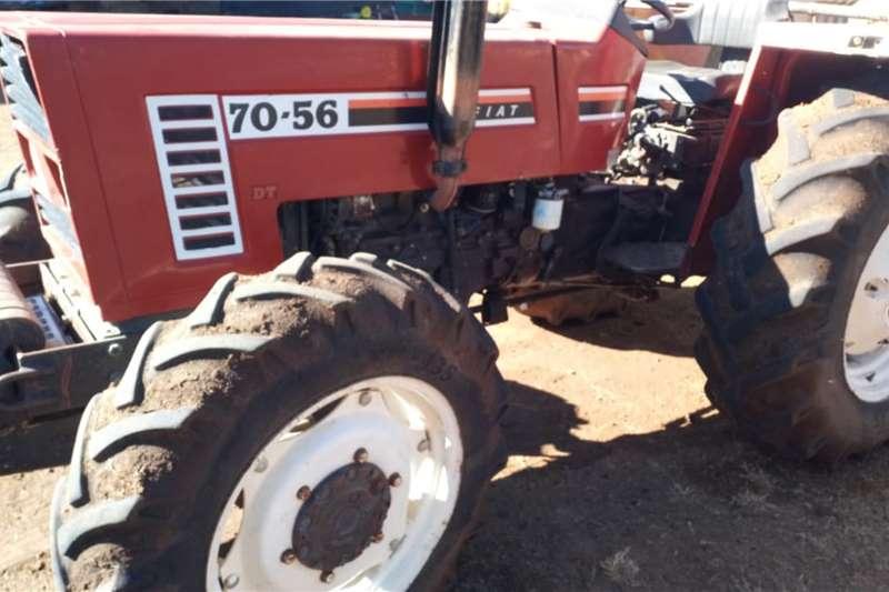 Fiat 4WD tractors Fiat 70 56 4x4 53 Kw Tractors