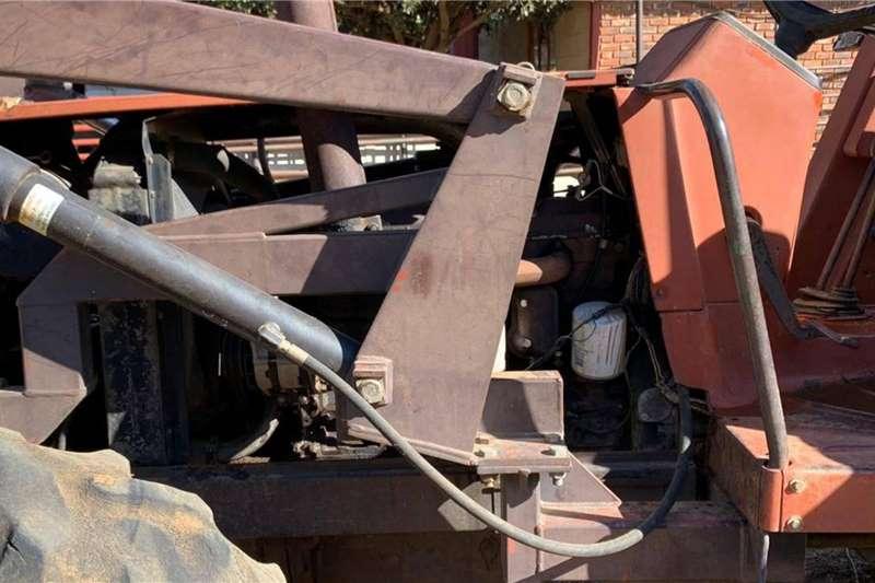 Fiat 4WD tractors Fiat 980 DT met Rovic Leers & Laaigraaf 98 HP Tractors