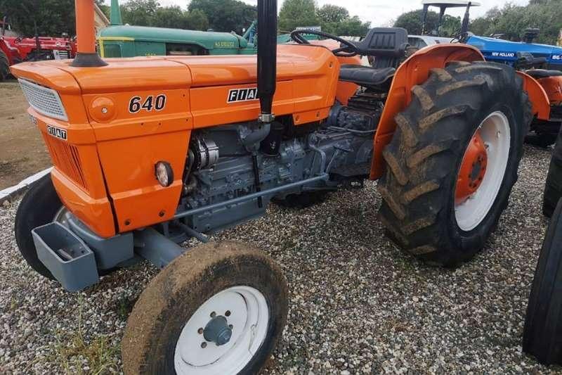 Fiat Two wheel drive tractors Fiat 640 Tractors
