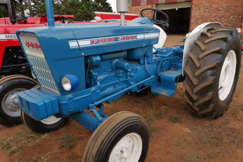 Ford Tractors 1980 Ford 5000 1980