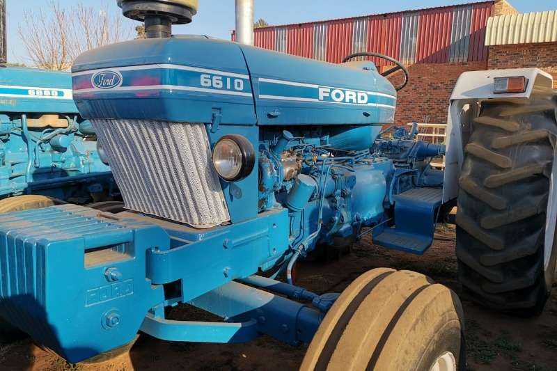 Ford Tractors 1990 Ford 6610 1990