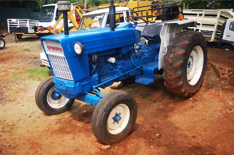 Ford Tractors 2WD tractors Ford 5000 Tractor 1988