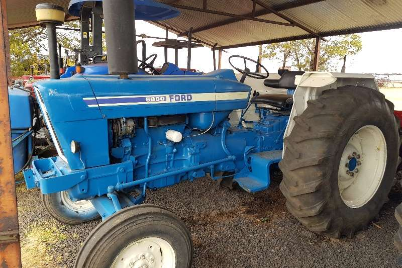 Ford Tractors 2WD tractors Ford 6600