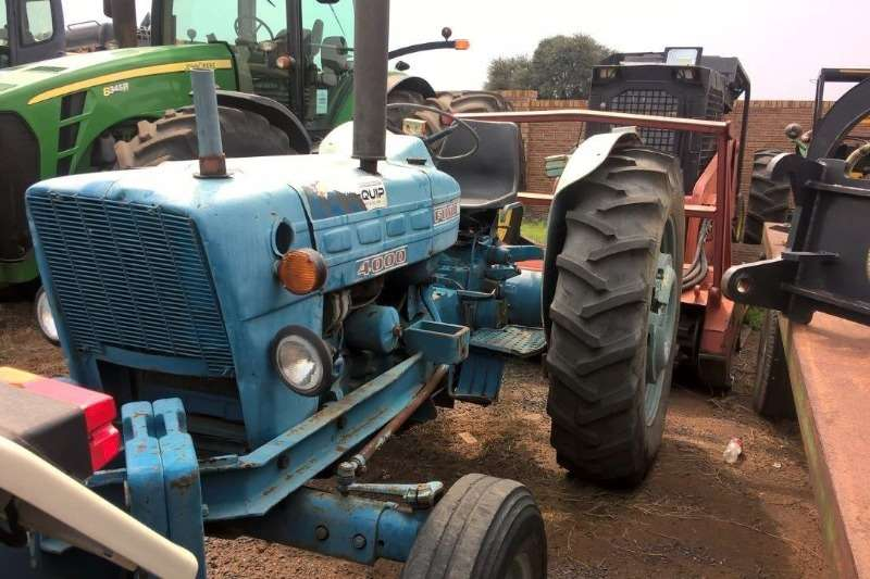 Ford Tractors Ford 4000 Tractor