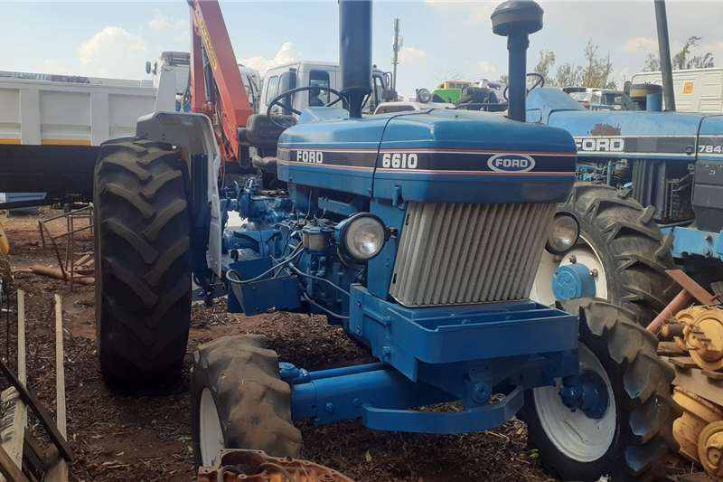 Ford Tractors Ford 6610 Tractor